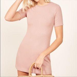 Reformation Pink Gigi Dress